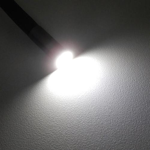 ヘッド部LEDライト(最大光量)