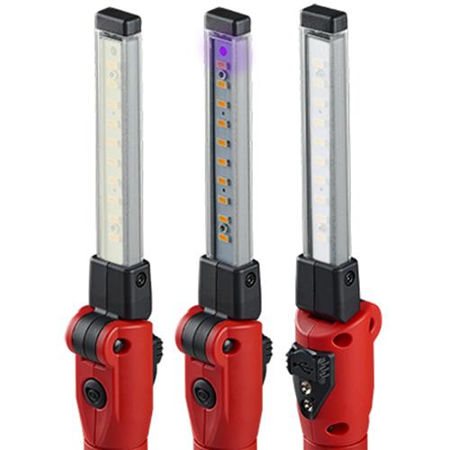 白色とナチュラル色または漏れ検出に役立つUV紫外線の3パターン