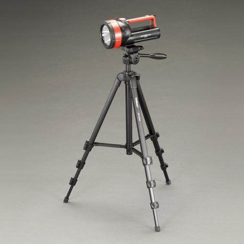 【A】カメラ用三脚へ取付可能。(※三脚は別売りです。)