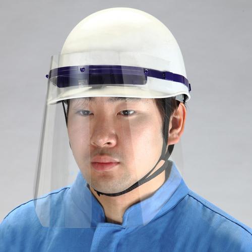ヘルメットに直接装着できる