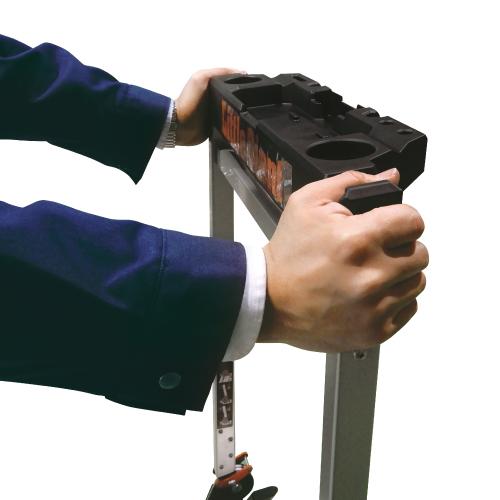 工具トレー付安全バー