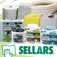 【SELLARS(セラーズ)】工業用ワイパー・油吸収材特集