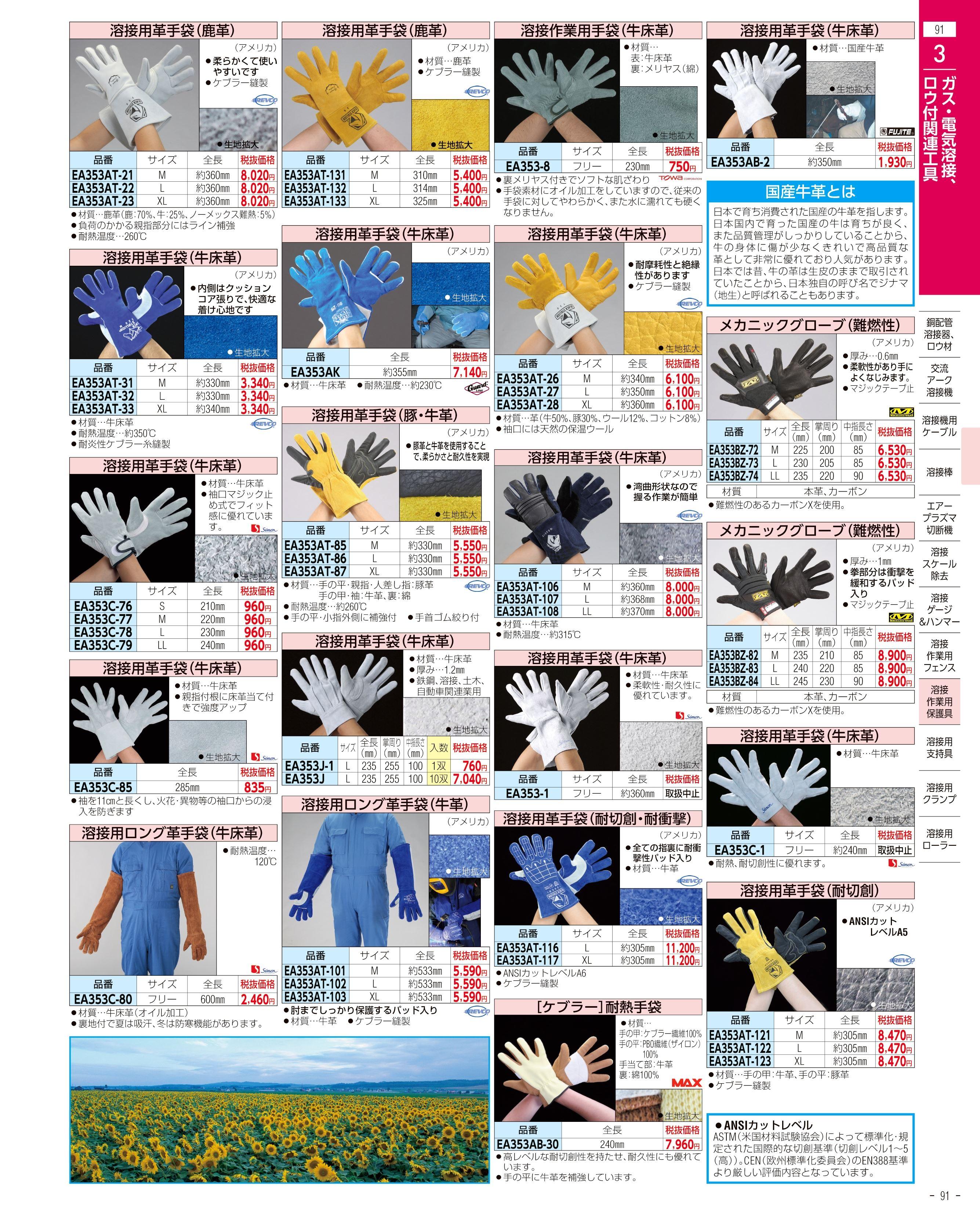 エスコ便利カタログ91ページ