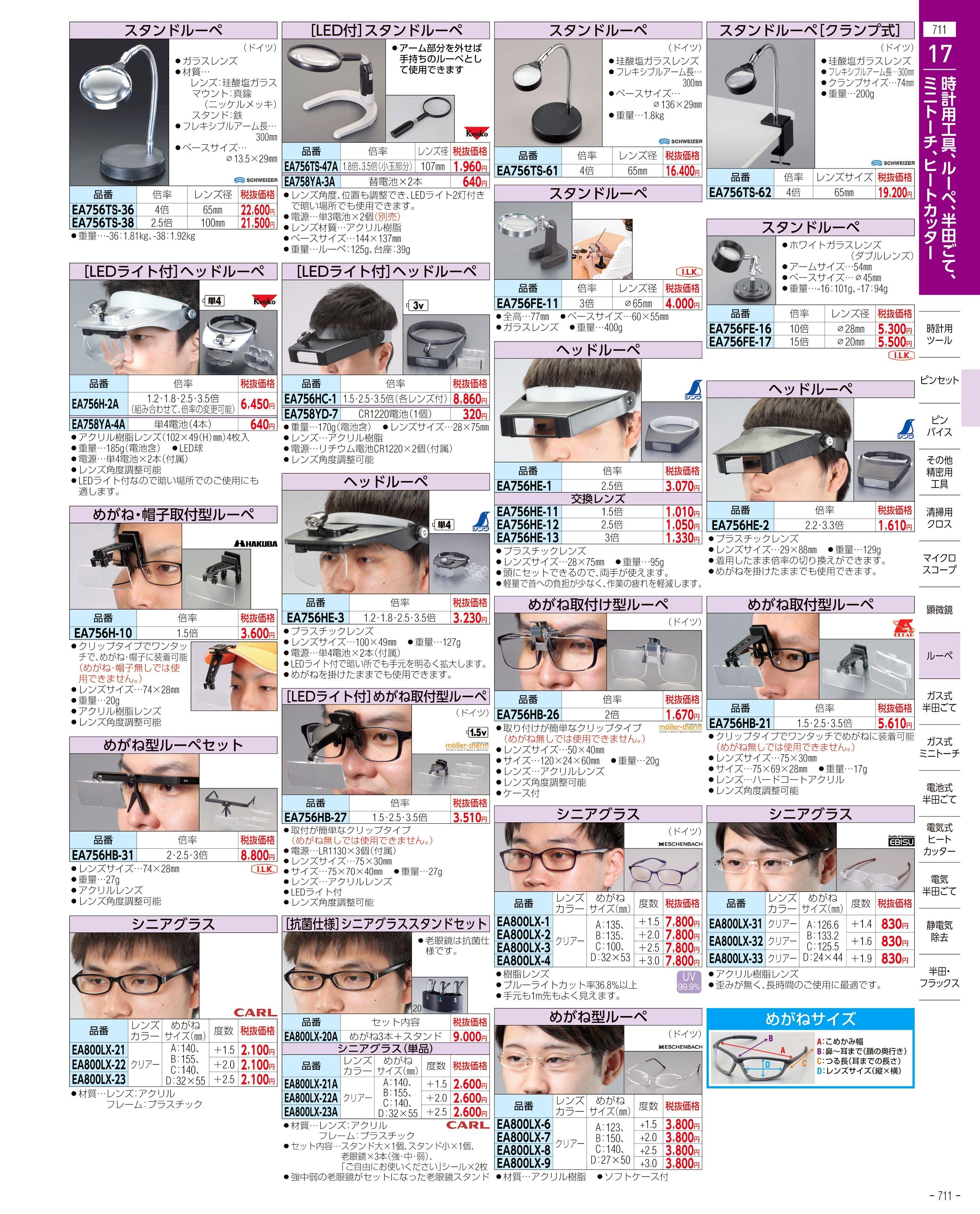 エスコ便利カタログ711ページ