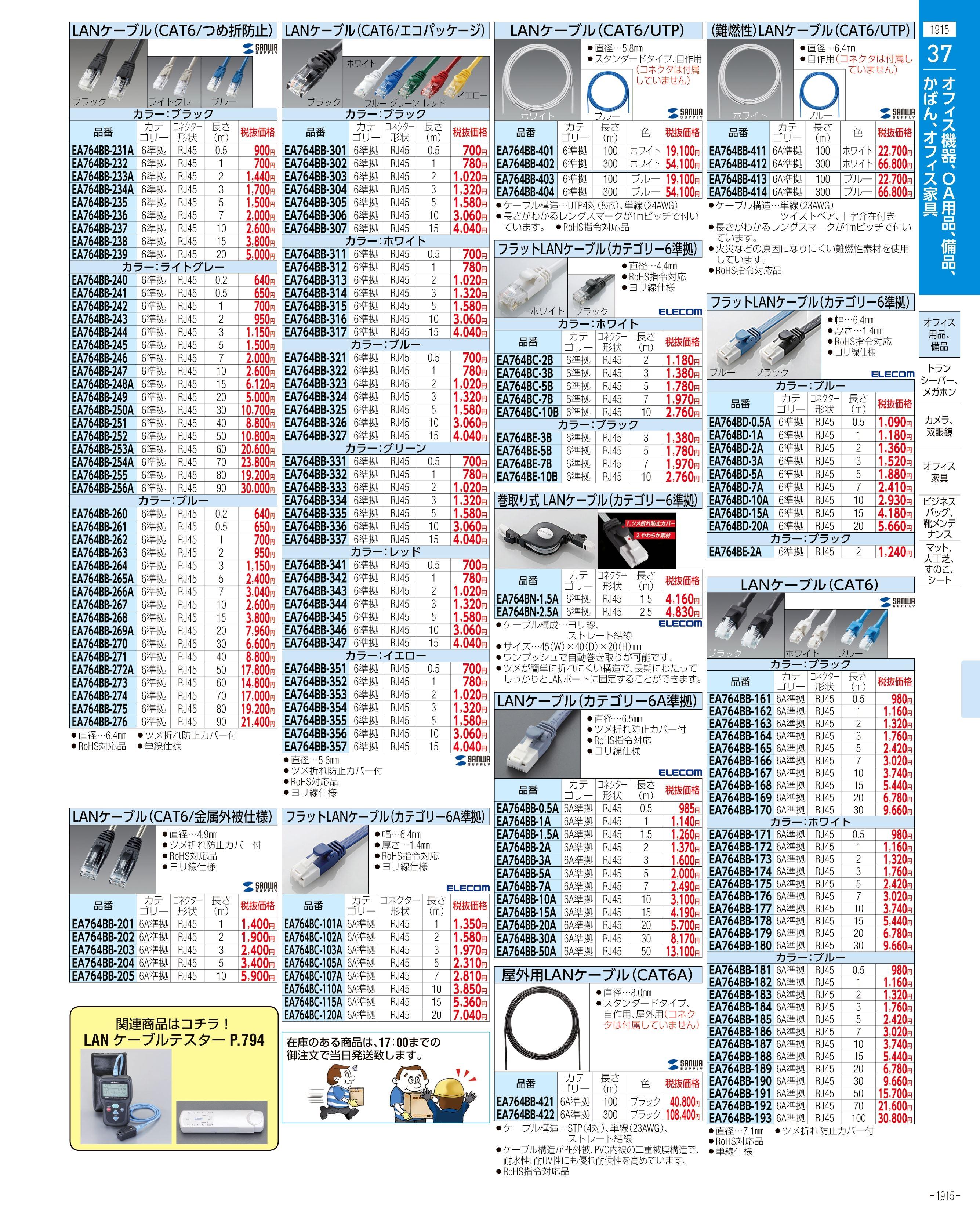 エスコ便利カタログ1915ページ