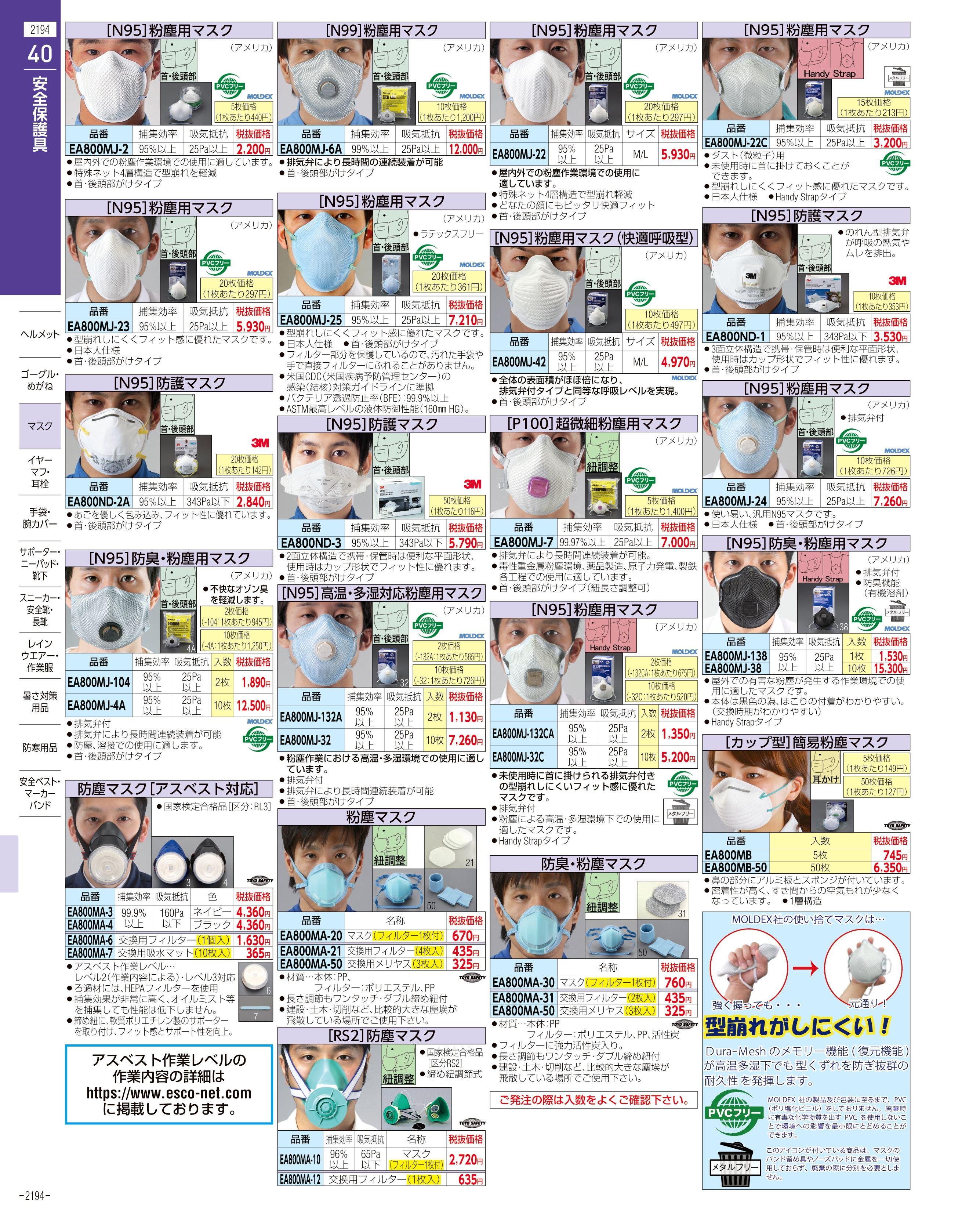 エスコ便利カタログ2194ページ